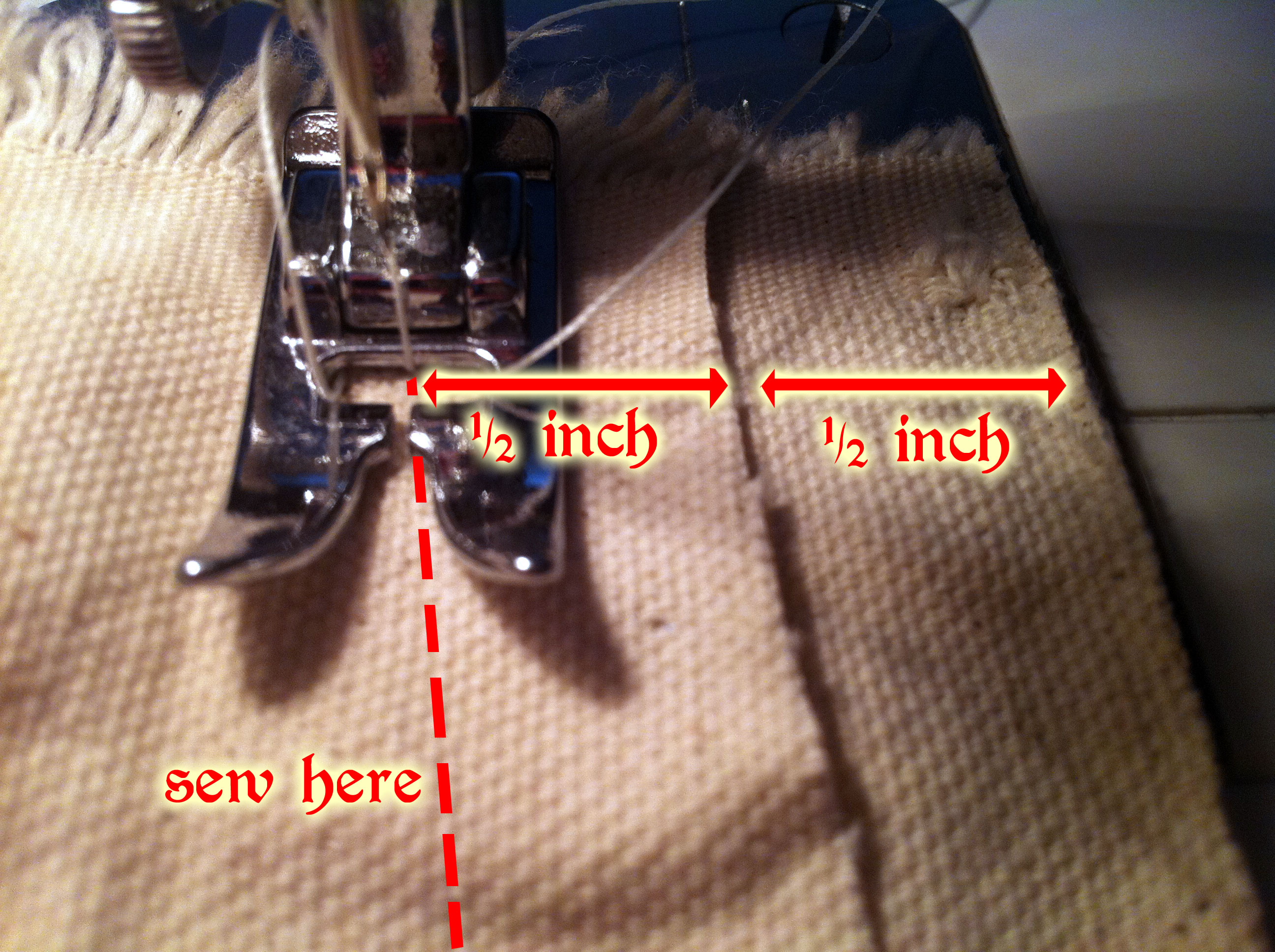 hot sale online c1e68 85274 How to Sew a Flat-Felled Seam (Making a Shade Canopy ...