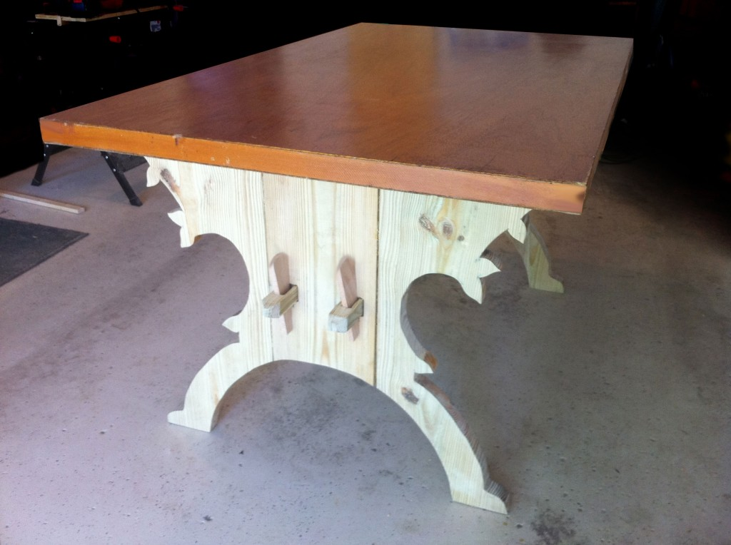 A Trestle Table For Under 35 How I Built A 15th Century