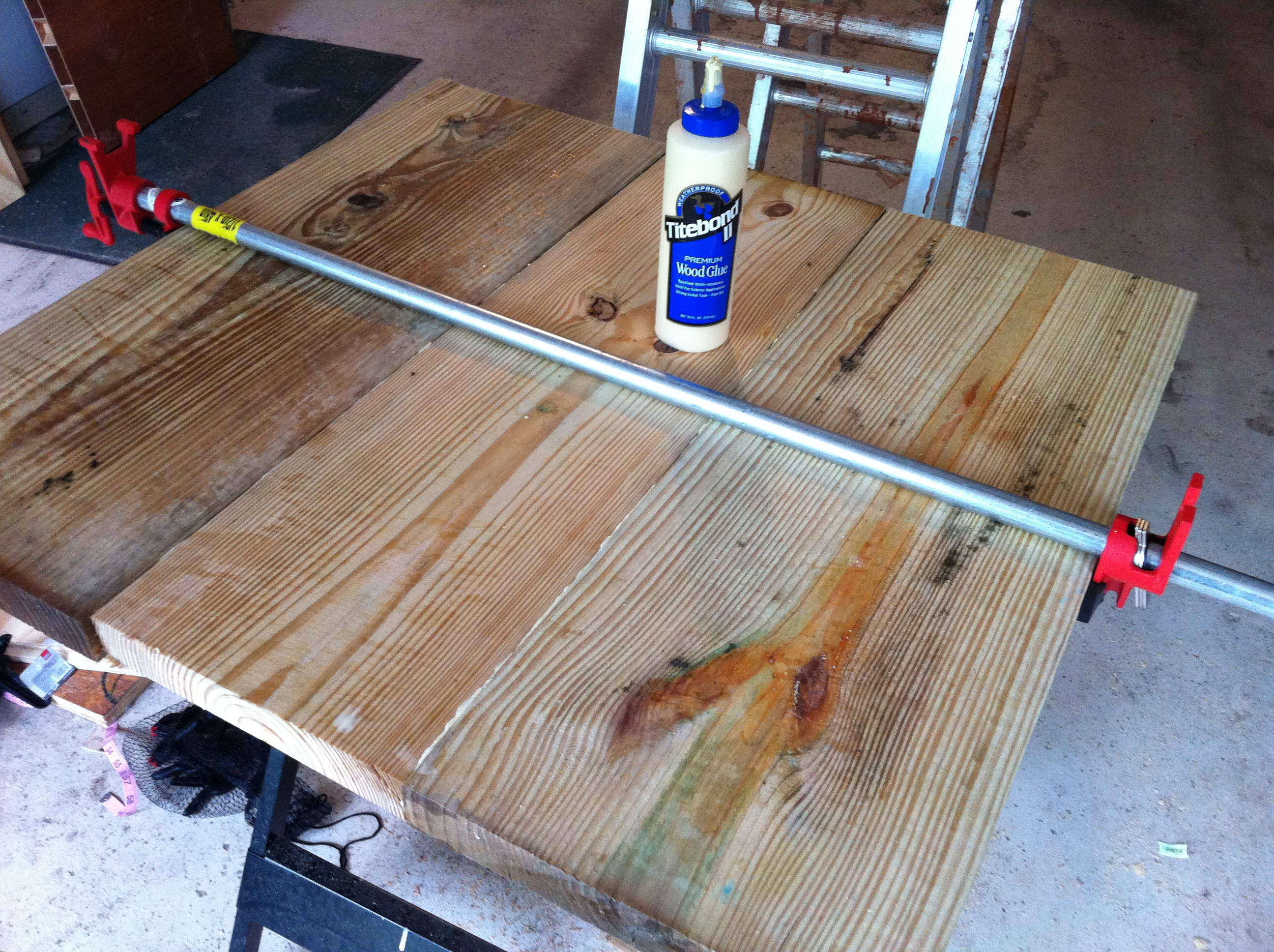 A trestle table for under how i built th century