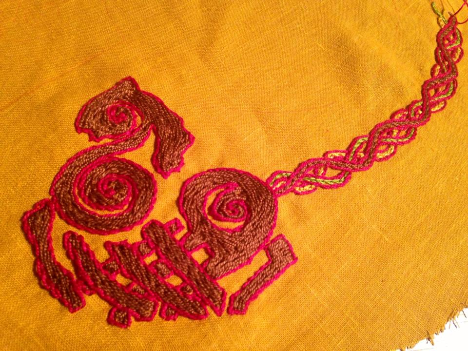 Fun With Norse/Viking Embroidery - Embroidery - Norse Viking - Honor Before Victory