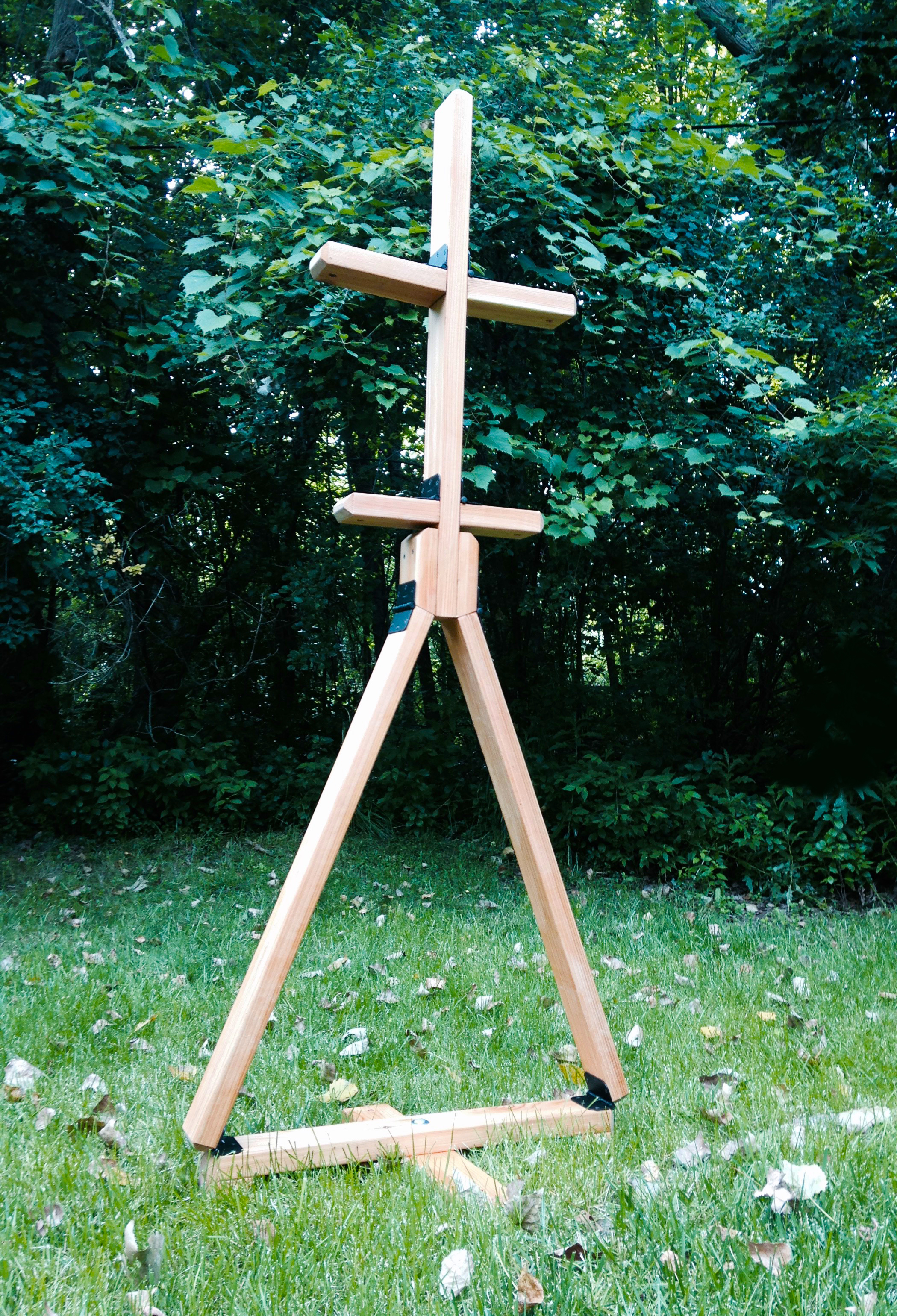 German Armor Stand: How To Make A Portable Folding Wood Armor Stand . Full resolution  picture, nominally Width 2099 Height 3080 pixels, picture with #082019.